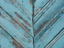 Free Blue Wooden Fence Stock Photography - 15265742