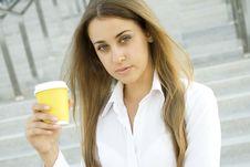 Free Coffee Break Stock Image - 15265841