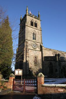 Free St Werburgh S Church, Hanbury Royalty Free Stock Photo - 15265975