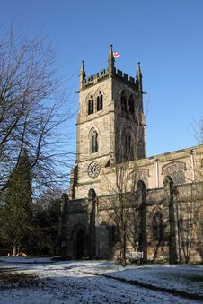 Free St Werburgh S Church, Hanbury Royalty Free Stock Photography - 15265997