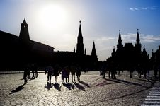 Free Red Square In Moscow Stock Photos - 15266123