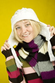 Free Winter Woman Royalty Free Stock Image - 15266126