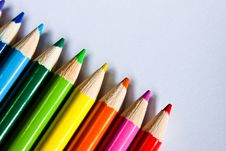 Free Colored Pencils Stock Photo - 15266260