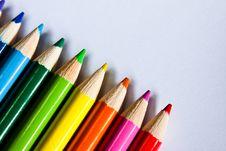 Free Colored Pencils Stock Photo - 15266260