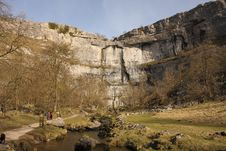 Free Malham Cove Royalty Free Stock Image - 15266266