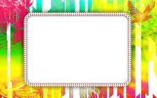 Free Vintage Photo Frame With Classy Patterns Royalty Free Stock Photography - 15267367