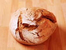 Loaf Of Fresh Bread Royalty Free Stock Photography