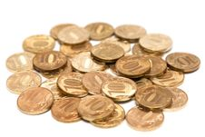 Free Gold Coins Royalty Free Stock Images - 15267749