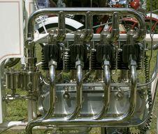 Free Vintage Motorcycle Engine Royalty Free Stock Photo - 15268235