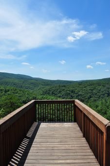 Free Deck With A View Stock Photo - 15268790