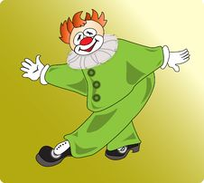 Free Green-clown Royalty Free Stock Photography - 15268937