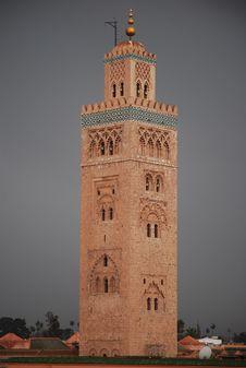 Free Morocco Mesquita Royalty Free Stock Photos - 15269108