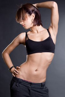 Free Dancer Girl Royalty Free Stock Image - 15269386