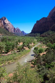 Free Zion Landscape Royalty Free Stock Photo - 15269795