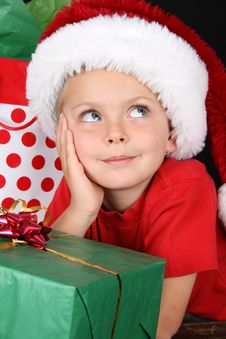 Free Christmas Boy Royalty Free Stock Image - 15269806