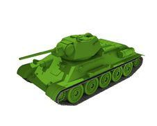 Free Medium Tank Royalty Free Stock Photos - 15269898
