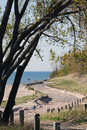 Free Beach Road Treeb Stock Image - 15270601