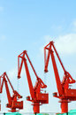 Free Pier Cranes Royalty Free Stock Image - 15275676