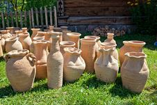 Free Clay Pot Stock Photography - 15270152