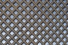 Free Metal Cross Grid Texture Royalty Free Stock Image - 15270776