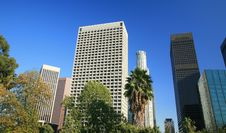 Free Los Angeles City Skyline Royalty Free Stock Photography - 15272287