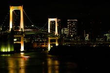 Free Bridge Tokyo Rainbow Bridge Stock Photos - 15272343