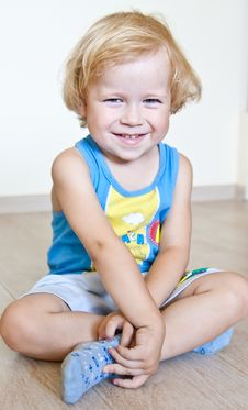 Free Cheerful Child With Sparkling Eyes Stock Image - 15272531