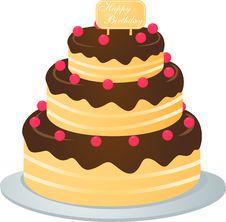Free Cake Royalty Free Stock Photography - 15272617