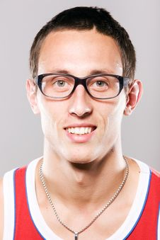 Free Portrait Of Young Man In Glasses Stock Image - 15272721