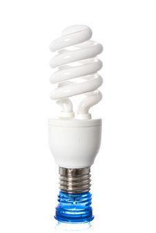 Free Energy Saving Bulb Stock Images - 15273124