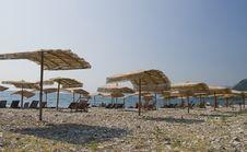 Adriatic Beach Royalty Free Stock Photo