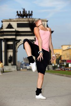 Free Woman Modern Dancer In Stock Photos - 15275003