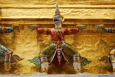 Free Giants Raising Pagoda Stock Photos - 15275143