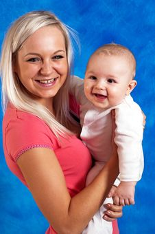 Free Mother Smile To Her Child Stock Photography - 15275862