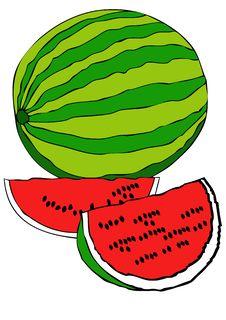 Free Watermelon Royalty Free Stock Photo - 15276475
