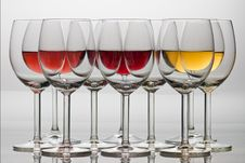 Free Wine Glasses Stock Images - 15276484