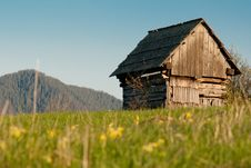 Free Hovel On Grass Fiels Royalty Free Stock Photo - 15276505
