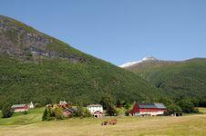 Free Village Of Loen On Nordfjord Stock Photos - 15276723