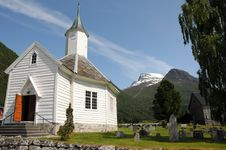 Free Loen Church, Norway Royalty Free Stock Photos - 15276738