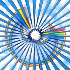 Free Rainbow Texture Royalty Free Stock Image - 15276846