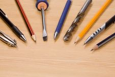 Free Tools And Pens Stock Photography - 15276902