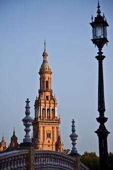 Free Plaza De Espana, Seville Royalty Free Stock Image - 15277466