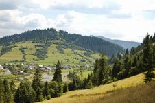 Free Mountain Landscape Royalty Free Stock Images - 15277849