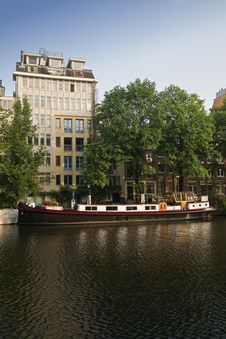 Free Amsterdam Typical Houses Stock Images - 15278084