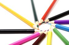 Free Color Pencils Stock Photography - 15278212