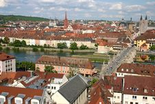 Free Wurzburg On The River  Main. Stock Images - 15278304