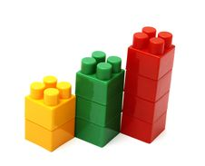 Free Chart From Toy Blocks Stock Photos - 15278333