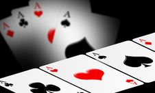 Free 4 Aces Stock Photography - 15278582