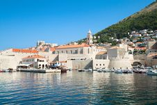 Free Dubrovnik Harbor And Old Town Stock Photos - 15278583