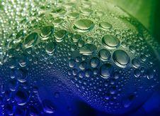 Free Water Drops Closeup Royalty Free Stock Photo - 15279225